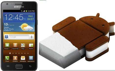 Galaxy S II ICS