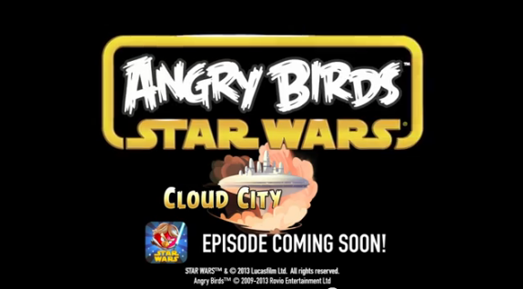 Cloud City Episode for Angry Birds Star Wars