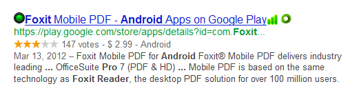 Foxit Mobile PDF Price