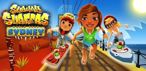 Subway Surfers Sydney e1365086971700 - Subway Surfers World Tour continues Down Under: Surf in Syndey